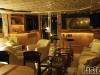 Yacht dinning room