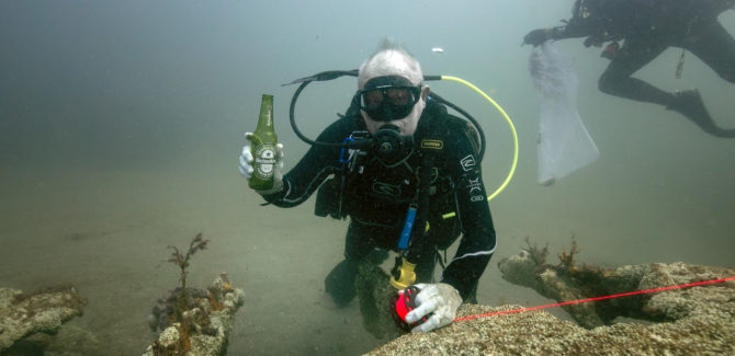 Diving With An Eco Purpose