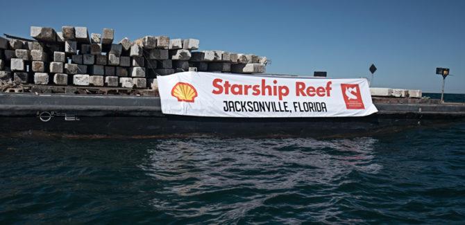 CCA/BCT Starship Reef Deployment