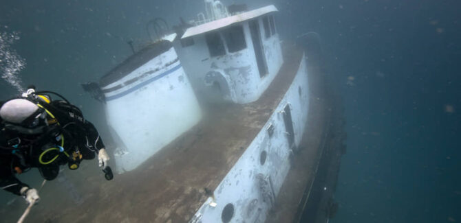 Two Ships Scuttled